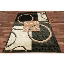 black and green rug circle square modern area rug black green two tone brown beige hallway black and green rug