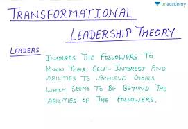 leadership theory transformational leadership theory hindi most important