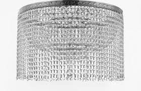 french empire crystal semi flush chandelier chandeliers lighting with crystal be