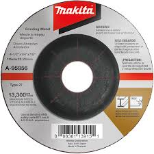 Oregon Grinding Wheel Chart Makita Usa Product Details A 95956