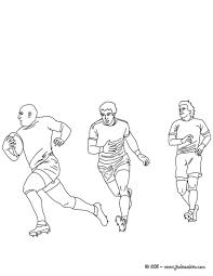 Coloriage De Rugby Toulouse