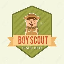 Scout Design Boy Scout Design Vector Illustration Eps10 Graphic