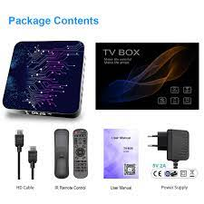 H50 2 Android TV Box Android 10 4GB 32GB 64GB 4K H.265 Media Player 3D  Video 2,4G 5GHz Wifi Bluetooth Smart TV Box Set Top Box|Set-top Boxes