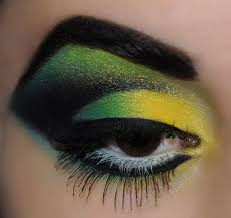 wicked witch eye make up
