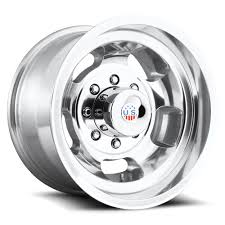 17x10 US MAGS/SLOT 8 lug BOLT PATTERNS FORD CHEVY DODGE GM w/ caps ...