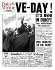 Image result for newspaper ve day