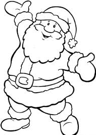 Small Picture Happy Santa Coloring Page Free Christmas Coloring pages of