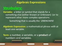translate among diffe representations of algebraic expressions equations and inequalities 3 voary