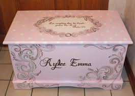 custom made wooden custom hope chest with a verse of your choice on lid and inside
