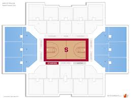 Stanford Basketball Seating Chart Maples Pavilion Stanford Seating Guide Rateyourseats Com