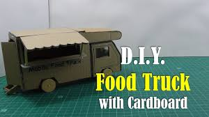 Diy Food Cart Design Diy Food Truck With Cardboard How To Make