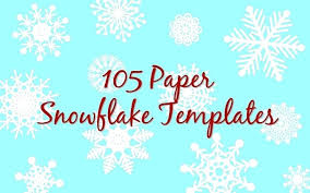 Snowflakes Template Pdf Magdalene Project Org