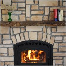 simple rustic fireplace mantels