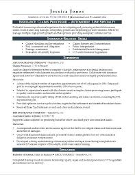 Loan Processor Resume Samples Combined With Resume Templates Monster ...