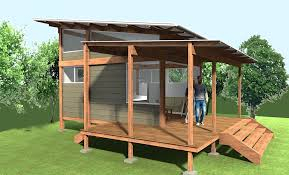 Small Picture This is a 200 sq ft Pavilion tiny house design called Tiny Pav 2