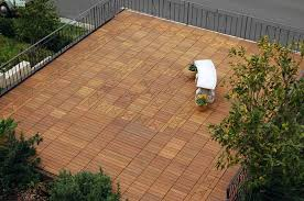 ipe wood interlocking deck tiles
