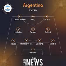Dove vedere Argentina Cile Copa America: diretta tv e streaming