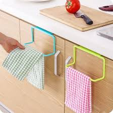 2018 hot over door tea towel rack bar hanging holder rail organizer bathroom kitchen cabinet cupboard hanger shelf from lastwish2018 0 81 dhgate com