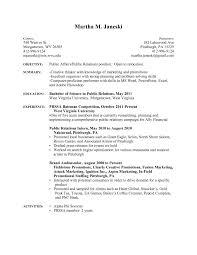 Resume Sample Pdf Resume For Your Job Application