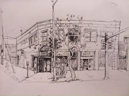 Sketching Clothing More Urban Pen Sketching A Clothing Store In Silverlake Drawing
