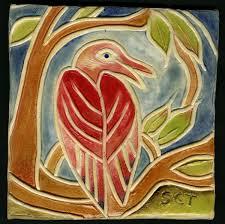 ceramic tile handmade.  Handmade Handmade Ceramic Tiles Redbird  In Tile M