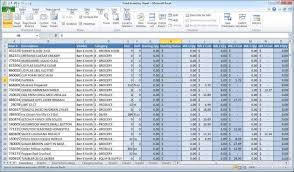 Small Businessses Spreadsheet Monthly Income And Free Excel For