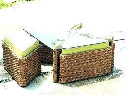 outdoor wicker coffee table outdoor wicker coffee table wicker storage coffee table rattan storage coffee table