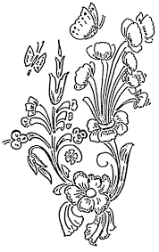Beautiful Flower Designs For Glass Painting Flower Embroidery Glass Painting Patterns Painting