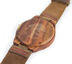men s wood watch natural bamboo and sandalwood quartz viable harvest mens wood watch wooden bamboo dial