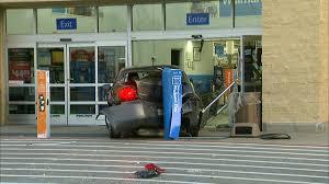 Car Drives Into Dallas Area Walmart Story Kdfw
