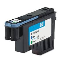 <b>HP</b> C9408A Genuine OEM <b>Hewlett Packard</b> No. <b>70</b> Blue and <b>Green</b> ...