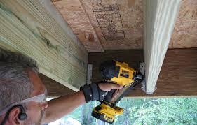 tool review dewalt 20v metal connector nailer professional deck builder