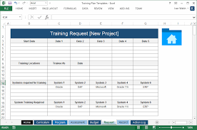 Training Plan Templates Ms Word 14 X Excel Spreadsheets