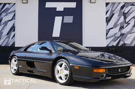 This 1995 ferrari f355 berlinetta had an engine out service a few years ago and has only 500 miles on it since then. Used 1999 Ferrari F355 Berlinetta For Sale 142 900 Tactical Fleet Stock Tf1335