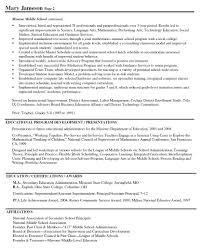 Assistant Principal Resume Sample Principal Resume Samples Free Resume Templates 15