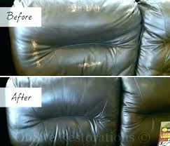 how to fix scratches on leather couch leather couch repair cat scratches leather couch tear repair