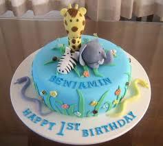 1st Cakes For Kids Birthday Animal Design 1st Birthday Cakes