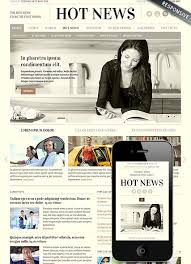 Newspaper Html Template Newspaper Html Template Rome Fontanacountryinn Com