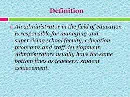 administrator definition