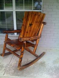 outdoor wooden rockers medium size of patio rocking chair seat cushions swivel porch