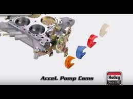 Holley Carb Accelerator Pump Cam Selection Installation Tutorial Overview