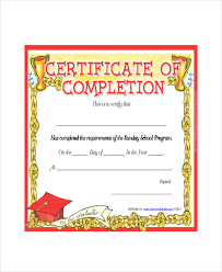 certificates of completion for kids sunday school certificate template 5 free word excel pdf