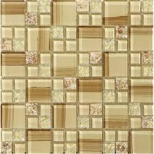 crackle glass tile hand paint cystal resin with shell backsplash wall tiles decorative bathroom a94