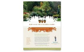 lawn care templates gardening flyer ohye mcpgroup co