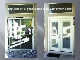 replacing garage door with french doors replacing garage door with french doors home depot exterior door replacing garage door