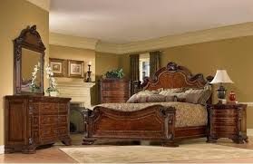 Impressive Bedroom Furniture Sets King With Classic King Size Bed