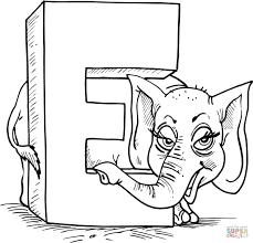 Small Picture Letter E coloring pages Free Coloring Pages