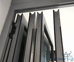 bifold glass door installation singapore condo ang mo kio