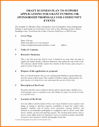 Event Proposal Template Event Proposal Template Doc Simple See Fresh 24 Sponsorship Of 6