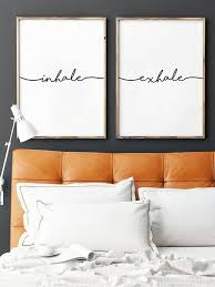 inhale exhale print yoga wall art wall prints inhale exhale pilates art relaxation gifts breathe print yoga on wall art prints for bedroom with inhale exhale print yoga wall art wall prints inhale exhale